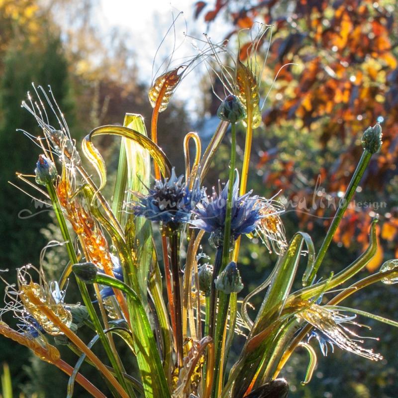 Стеклянная композиция Ветер в поле