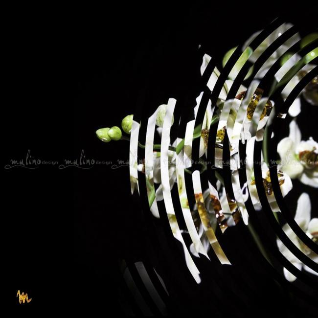 Композиция из стекла и металла  ФАЛЕНОПСИС – примеры ранее выполненных работ
