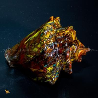 Стеклодувная ракушка с шипами – примеры ранее выполненных работ