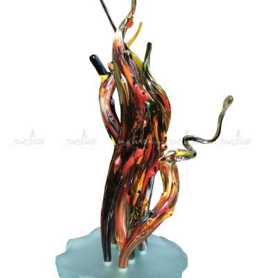 Композиция из цветного стекла Коралл – примеры ранее выполненных работ
