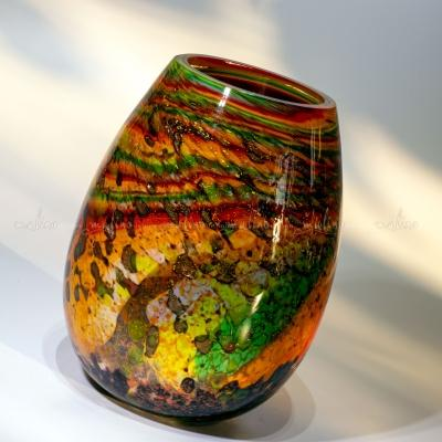 """Ваза из цветного стекла """"Кармен"""" – примеры ранее выполненных работ"""