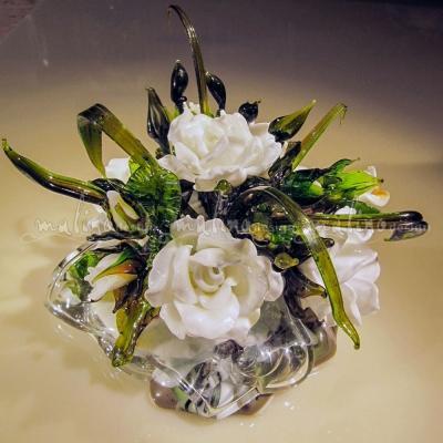 Композиция из цветного стекла Свадебная – примеры ранее выполненных работ