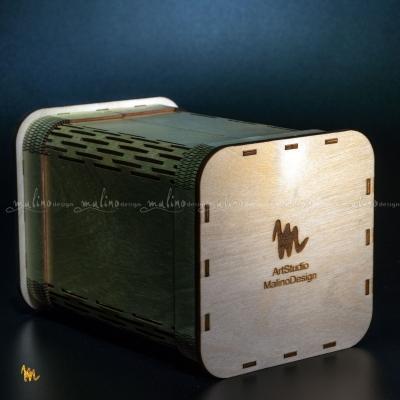 Подарочная упаковка из фанеры – примеры ранее выполненных работ