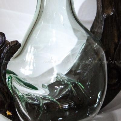 Ваза из прозрачного стекла Капля – примеры ранее выполненных работ