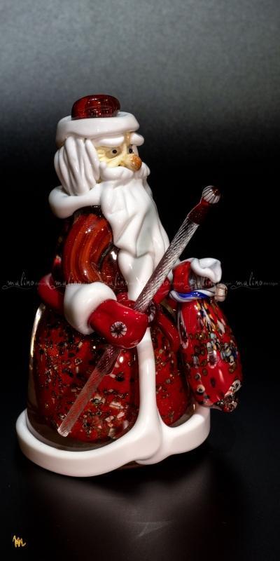 Фигурка из стекла Дед Мороз – примеры ранее выполненных работ