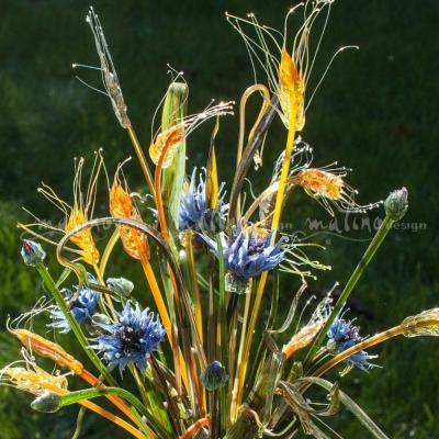 Стеклянная композиция Ветер в поле – примеры ранее выполненных работ