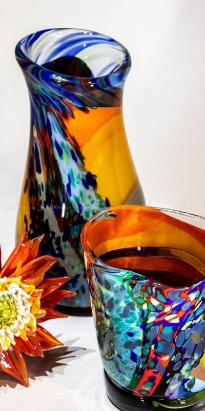 Ваза из цветного стекла АЛОХА – примеры ранее выполненных работ